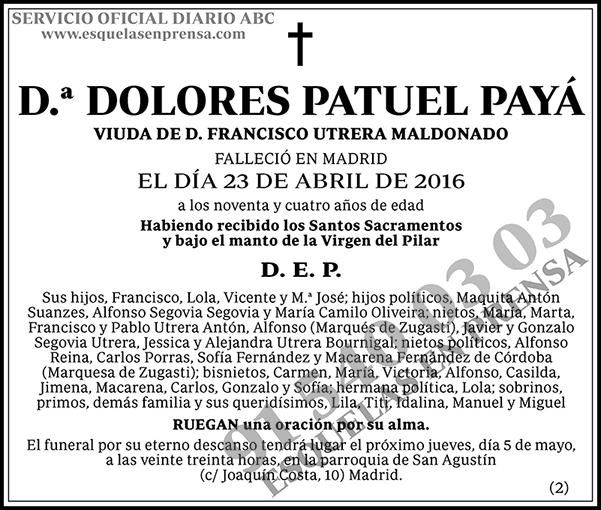 Dolores Patuel Payá